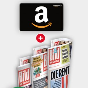 Tipp: 12x Bild am Sonntag für 18,40€ + 20€ Amazon Gutschein