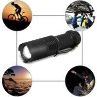 Outdoor Sport Hiking Camp Led Headlamp Cycling Flashlight   RoseGal.com