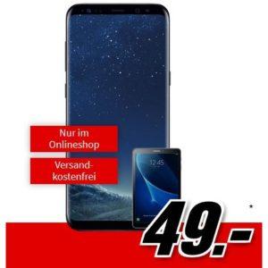 [TOP] D2: Allnet-Flat mit 4GB + Galaxy S8 Plus + Galaxy Tab A für 34,99€ mtl.