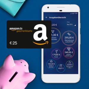 o2 Banking: 25€ Amazon.de-Gutschein für das kostenlose Konto
