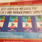Bis 20 % Rabatt auf Google Play