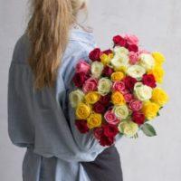 Blumeideal Blumenstrauss  37 Rosen bestellen