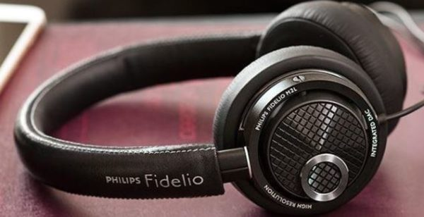 Philips Fidelio M2L Kopfhoerer schwarz  Amazon.de  Elektronik 1