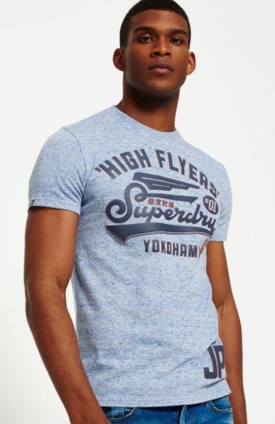 2017 12 22 10 15 14 Superdry High Flyers Reworked T Shirt Herren T Shirts