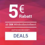 5€/10€ Rabatt bei medimops