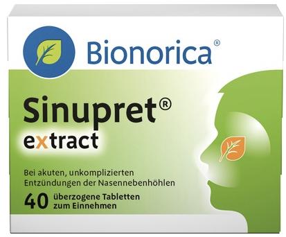 SINUPRET eXtract ueberzogene Tabletten auf sanicare.de