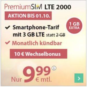 o2 Drillisch: Allnet-Flat + 3GB / 4GB LTE + EU-Flat (mtl. kündbar) // NEU: auch mit 10GB LTE