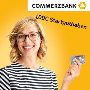 [TOP] 100€ Startguthaben für das kostenlose Commerzbank Girokonto