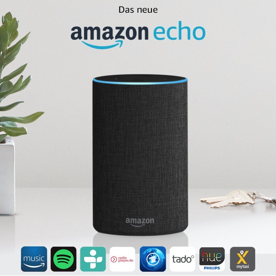 amazon echo speaker oder echo dot echo spot etc. Black Bedroom Furniture Sets. Home Design Ideas