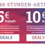 5€/10€ Rabatt bei Medimops (MBW: 30€/50€)
