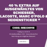 Mybodywear: 40% Rabatt auf Lacoste, Schiesser & Seidensticker, z.B. 3x Lacoste Boxershorts für 27€
