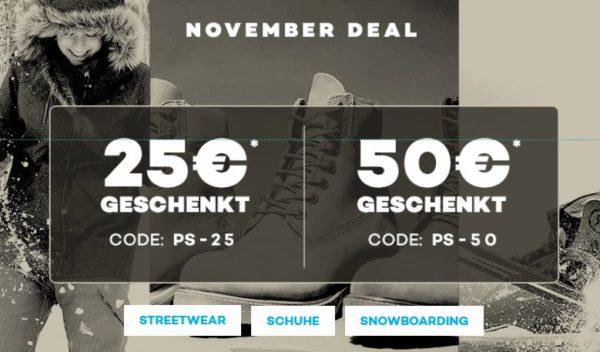 cheap for discount 932b6 b9084 25€ ab 150€ MBW PS-25  50€ ab 250€ MBW PS-50 • Keine VSK ab 40€ MBW •  Gültig nur bis 12.11.2017 • Nike, Vans, Adidas u.s.w.