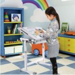 iKayaa verstellbare Kindertisch und Stühle