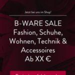 Tipp: Großer B-Ware-Sale bei Brands4Friends
