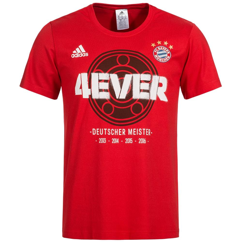 fc bayern muenchen adidas herren meister t shirt bq4087 08508 1372951