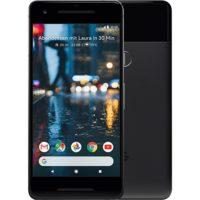 google pixel 2 schwarz vorne und hinten