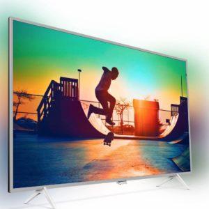 """10% Rabatt auf alle Fernseher, z.B. Philips 55"""" UHD-TV mit Ambilight"""