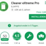 Cleaner App für Android