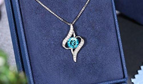 J.Rosee Halskette Zirkonia 925er Silber 1