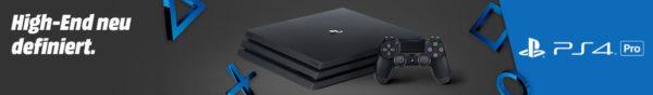 PlayStation 4 Pro High End neu definiert. 7C Media Markt