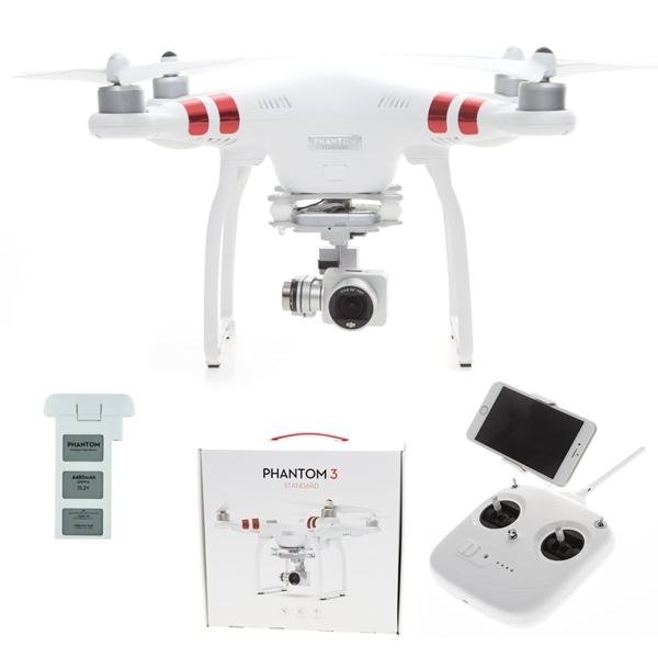 dji phantom 3 standard rc quadrocopter rtf mit hd kamera XCIT 1509700 1