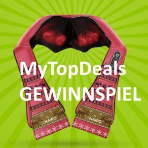 Newsletter Gewinnspiel: Naipo Schulter Massagegerät (Wert: 100€)