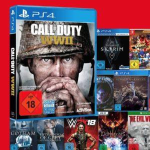 *Endet heute* Nimm 3 zahl 2 bei Media Markt: Games, Filme & Musik
