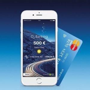 o2 Banking: 50€ Guthaben für das kostenlose Konto inkl. Mastercard (ohne Schufa!)