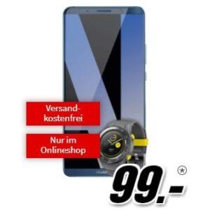 [Knaller] o2: Free M (Allnet-Flat mit 10GB LTE) + Huawei Mate 10 Pro + Watch 2