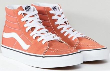 2018 04 10 15 26 19 Vans   Vans – Sk8 Hi – Sneaker in Orange VA38GEQSP 1