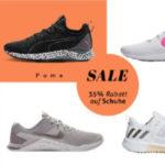 MySportswear: 35% auf Schuhe von Nike, Adidas & co, z.B. Adidas Cloudfoam Lite Racer