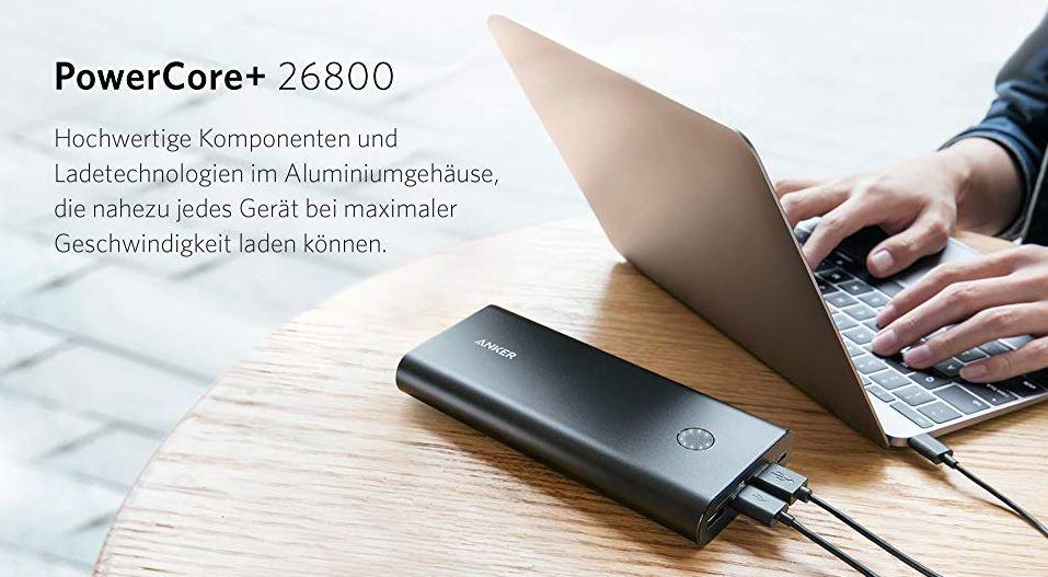 2019 10 04 10 47 00 Anker PowerCore 26800mAh Premium Externer Akku mit  Amazon.de  Elektronik