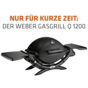 Gratis Weber Gasgrill Q1200 (als Prämie) zum lifestrom smart Tarif