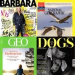 """Jahresabos mit erhöhter Prämie, z.B. """"National Geographic"""" mit 50€ Gutschein"""