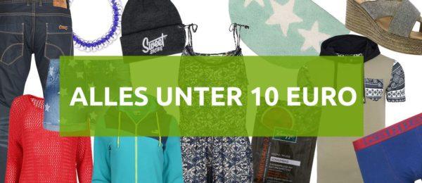 Alles unter 10 Euro im Sale bei Outlet46
