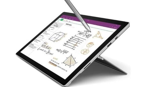 Microsoft MICROSOFT SURFACE PRO 4 WiFi 128GB BLACK WINDOWS 10 INTEL CORE M3 TABL