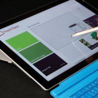 Microsoft SURFACE Pro 3 fresh paint