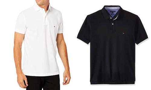 Tommy Hilfiger Herren Core Hilfiger Regular Polo Poloshirt schwarz