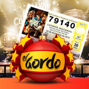 El Gordo Weihnachts-Lotterie mit 2,4 Mrd. (!) Euro Gesamtgewinn ab 0,99€