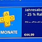 12 Monate Playstation Plus Mitgliedschaft