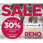 Reno: Großer Schuh-Sale + 30% Extra-Gutschein, z.B. Adidas, Dockers usw.