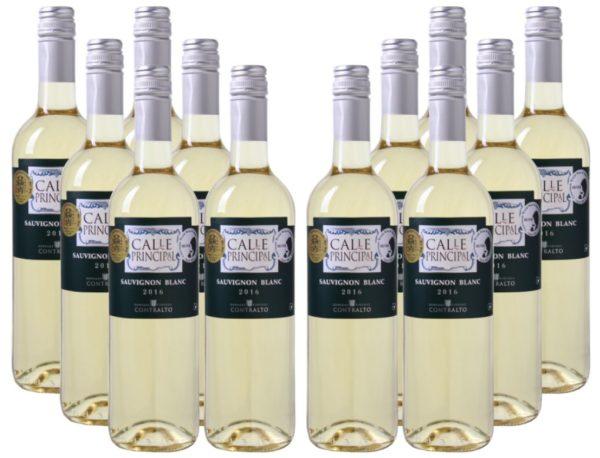 12er Paket Calle Principal Sauvignon Blanc Vino de la Tierra Castilla 2