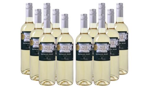 12er Paket Calle Principal Sauvignon Blanc Vino de la Tierra Castilla