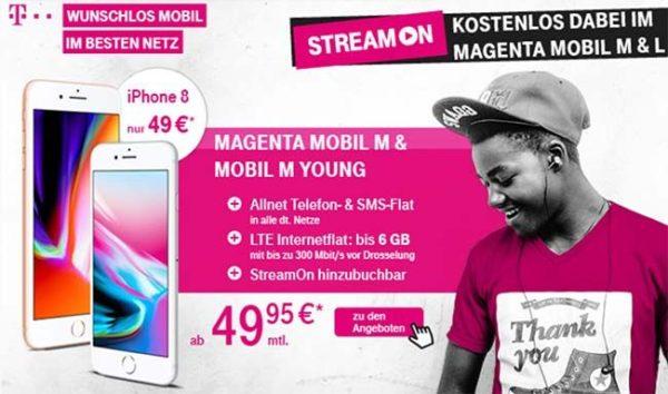 d1 telekom magenta mobil m mit 4gb bzw 6gb lte versch. Black Bedroom Furniture Sets. Home Design Ideas