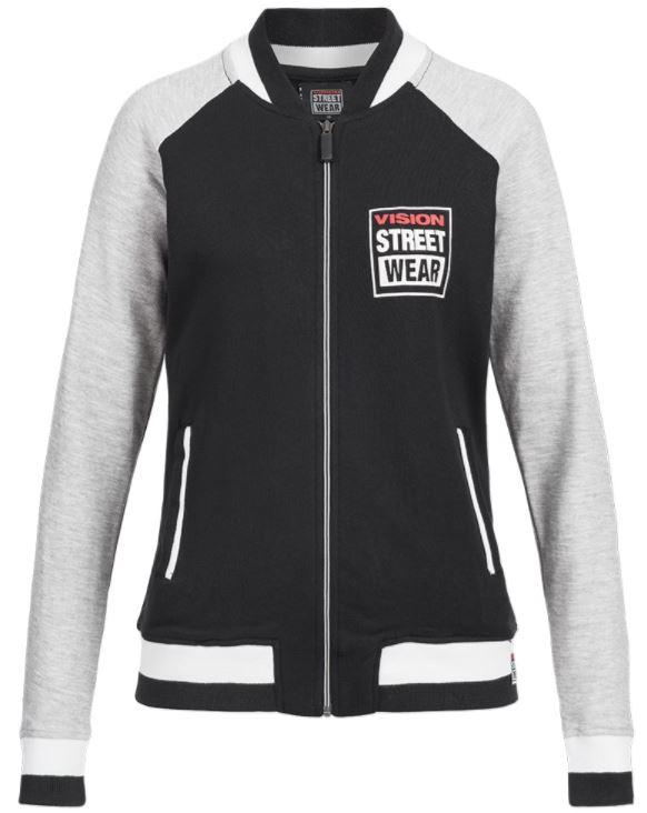 2018 03 22 11 55 55 Vision Street Wear Damen Baseball Bomber Jacke Sweatjacke CL2716   SportSpar