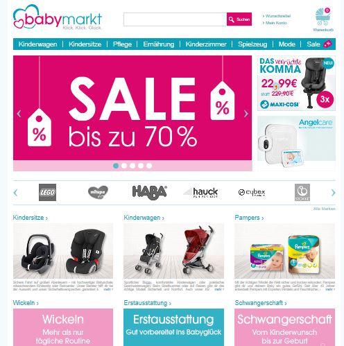 Babymarkt Rabatt Aktionen