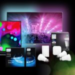 Saturn Lichter Nacht, z.B. Philips Ambilight TVs oder Philips Hue Strips
