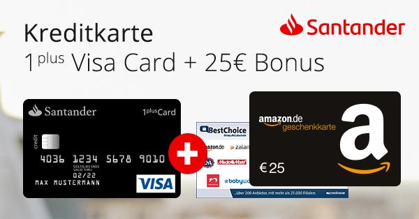 santander 1plus visa card 2019 post