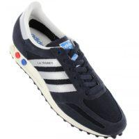 2018 02 27 16 56 20 adidas Originals LA Trainer OG Herren Schuhe Blau   sneakershop24