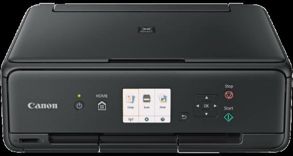 CANON PIXMA TS5055 50 Blatt Fotopapier PP 201 Multifunktionsdrucker Schwarz